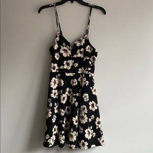 🌸Black Flowered Dress🌸